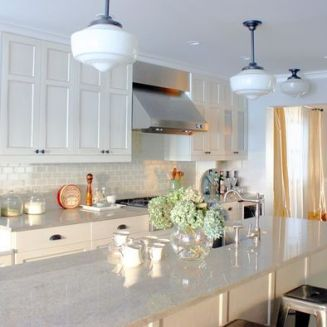 Easy grey and white kitchen backsplash ideas 39