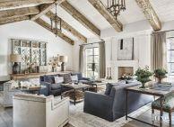 Easy rustic living room design ideas 03