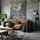 Easy rustic living room design ideas 05
