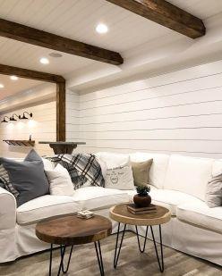 Easy rustic living room design ideas 20