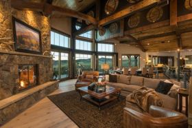 Easy rustic living room design ideas 21