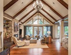 Easy rustic living room design ideas 28