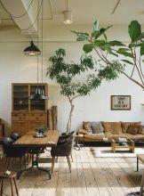 Easy rustic living room design ideas 34