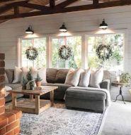 Easy rustic living room design ideas 35