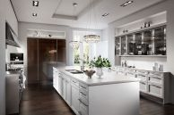 Elegant kitchen ideas with white cabinets 12