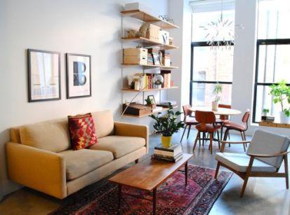 Elegant mid century living room furniture ideas 02