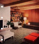 Elegant mid century living room furniture ideas 12