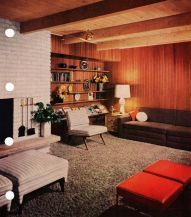 Elegant mid century living room furniture ideas 12