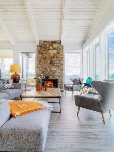 Elegant mid century living room furniture ideas 19