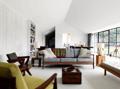 Elegant mid century living room furniture ideas 29