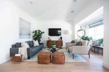 Elegant mid century living room furniture ideas 34