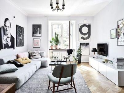 Elegant mid century living room furniture ideas 40