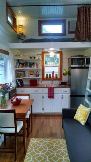 Fabulous small house kitchen ideas 47