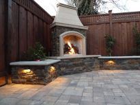 Fancy fire pit design ideas for your backyard home 22