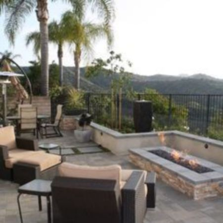 Fancy fire pit design ideas for your backyard home 24