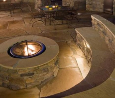 Fancy fire pit design ideas for your backyard home 25