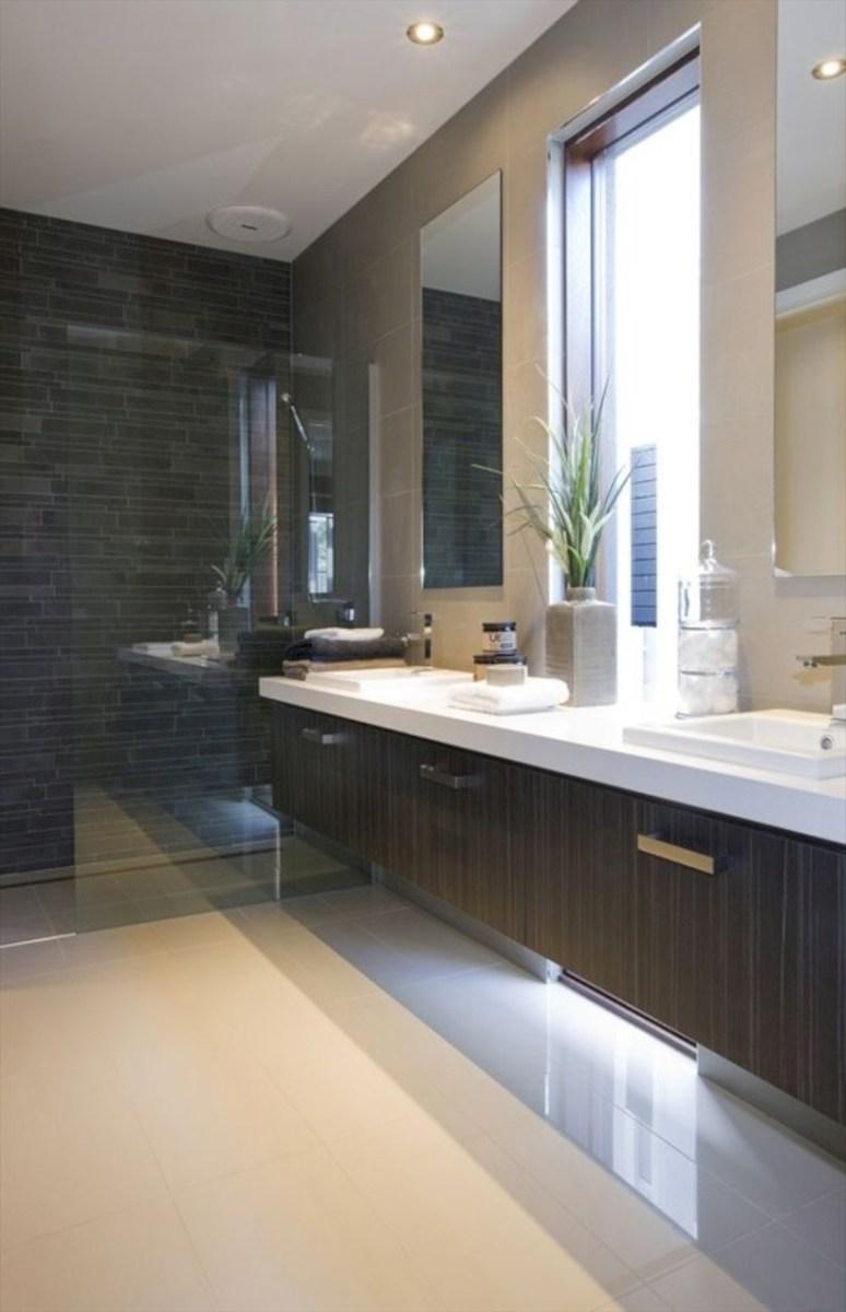 Fantastic mid century modern bathroom vanity ideas 12