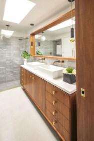 Fantastic mid century modern bathroom vanity ideas 16