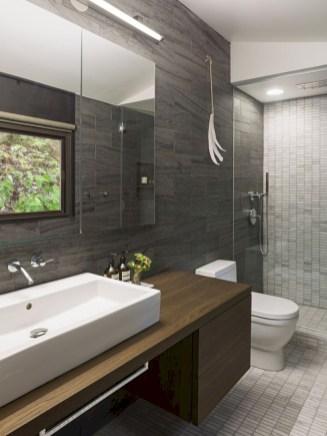 Fantastic mid century modern bathroom vanity ideas 36