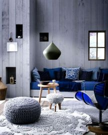 Gorgeous ideas on creating color harmony in interior design 05