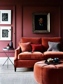 Gorgeous ideas on creating color harmony in interior design 06