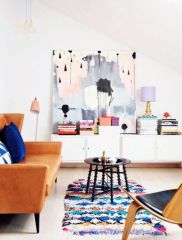 Gorgeous ideas on creating color harmony in interior design 29
