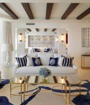 Gorgeous ideas on creating color harmony in interior design 31