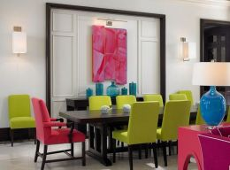 Gorgeous ideas on creating color harmony in interior design 37