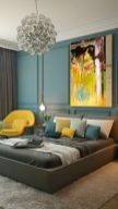 Gorgeous ideas on creating color harmony in interior design 40
