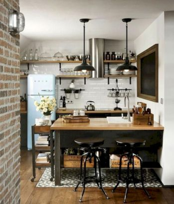 Gorgeous small kitchen makeovers on a budget 01