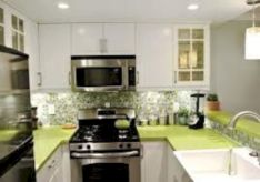 Gorgeous small kitchen makeovers on a budget 26