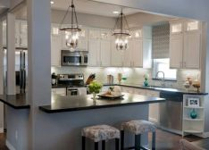 Gorgeous small kitchen makeovers on a budget 27