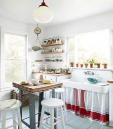 Gorgeous small kitchen makeovers on a budget 35