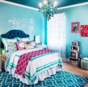 Impressive colorful bedroom ideas 22