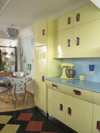 Impressive kitchen retro design ideas for best kitchen inspiration 08