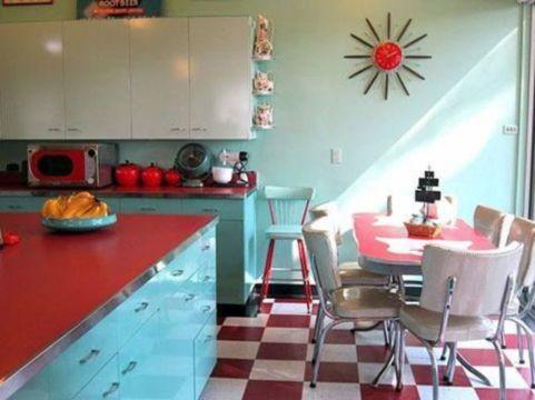 Impressive kitchen retro design ideas for best kitchen inspiration 09