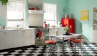 Impressive kitchen retro design ideas for best kitchen inspiration 16