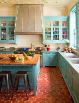 Impressive kitchen retro design ideas for best kitchen inspiration 22
