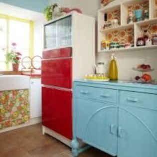 Impressive kitchen retro design ideas for best kitchen inspiration 29