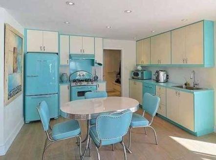 Impressive kitchen retro design ideas for best kitchen inspiration 33