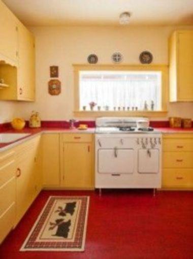Impressive kitchen retro design ideas for best kitchen inspiration 42