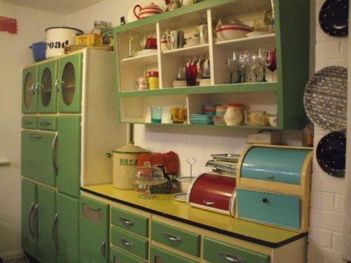 Impressive kitchen retro design ideas for best kitchen inspiration 43