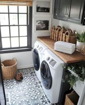 Inspiring small laundry room ideas 18