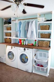 Inspiring small laundry room ideas 40