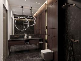 Lovely hotel bathroom design ideas that can be applied to your home 03