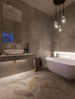 Lovely hotel bathroom design ideas that can be applied to your home 13