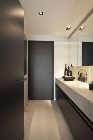 Lovely hotel bathroom design ideas that can be applied to your home 16