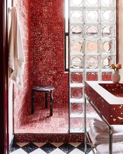 Lovely hotel bathroom design ideas that can be applied to your home 29