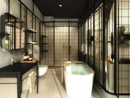 Lovely hotel bathroom design ideas that can be applied to your home 30