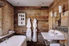 Lovely hotel bathroom design ideas that can be applied to your home 43